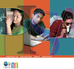 The PISA report front cover (C) OECD.
