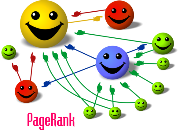 From Wikipedia: The more you are pointed to by quality links, the bigger (and happier) you are. Hooray!