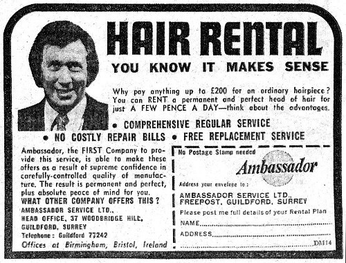 I'm not there yet but the educational impact on hair rental may one day be something I can talk about with authenticity.
